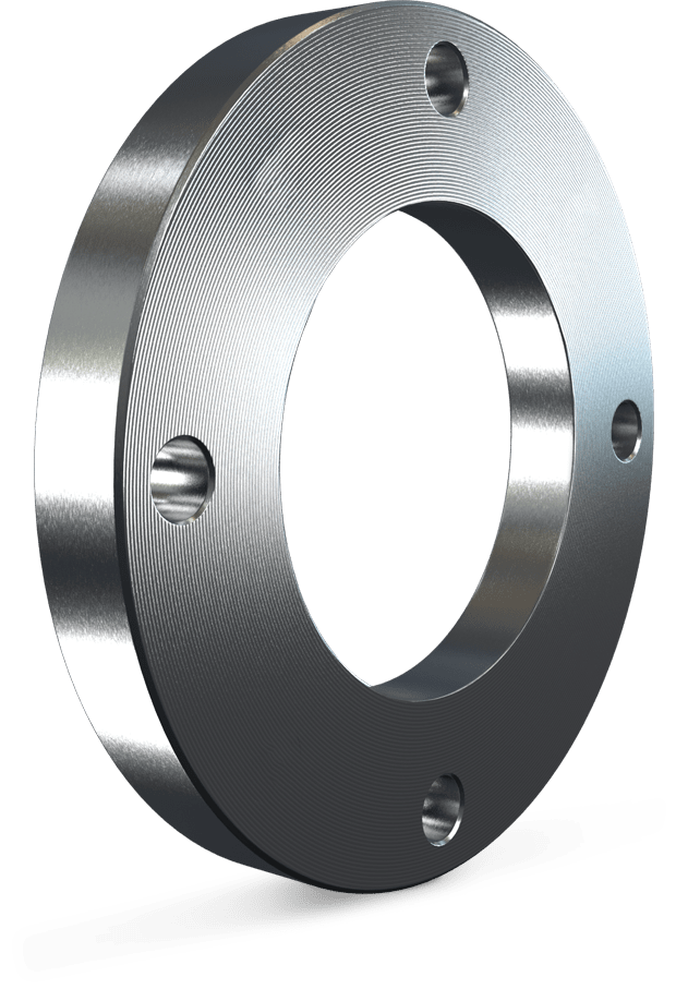 Flanges for tubes HDPE
